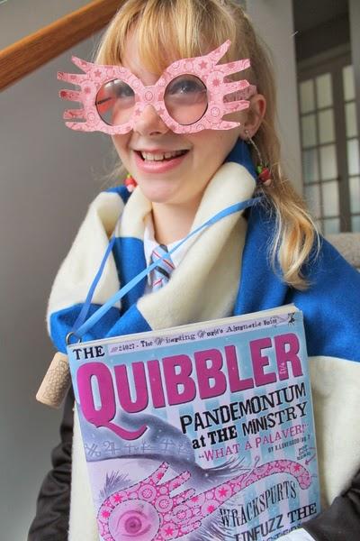 Harry Potter Diy Luna Lovegood Costume An Easy How To Frugal Family Times