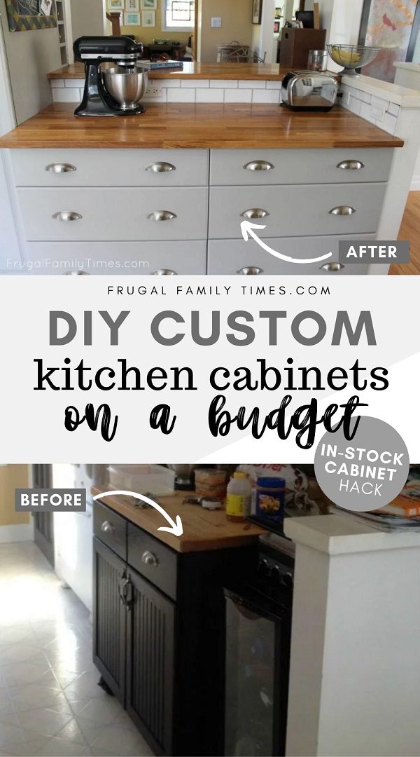 How To Cut Down The Depth Of A Base Cabinet To Hack In Stock Like Custom