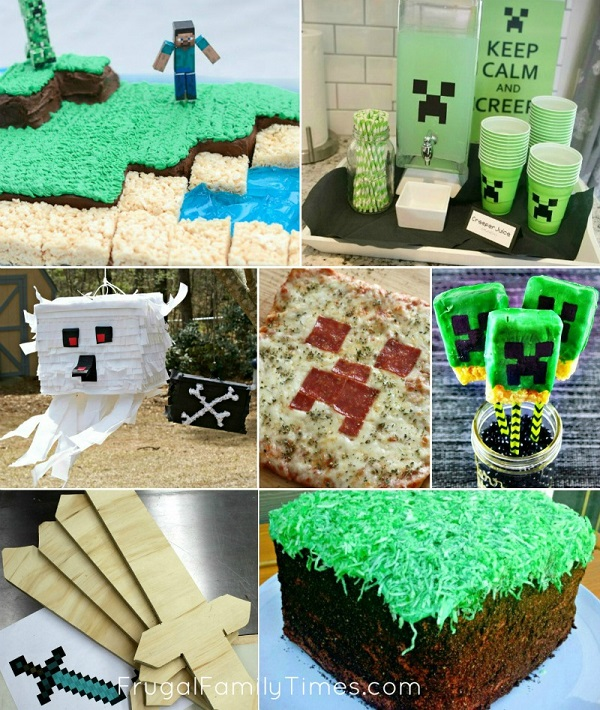 The Most Amazing Minecraft Party Ideas Crafts Games Decor And