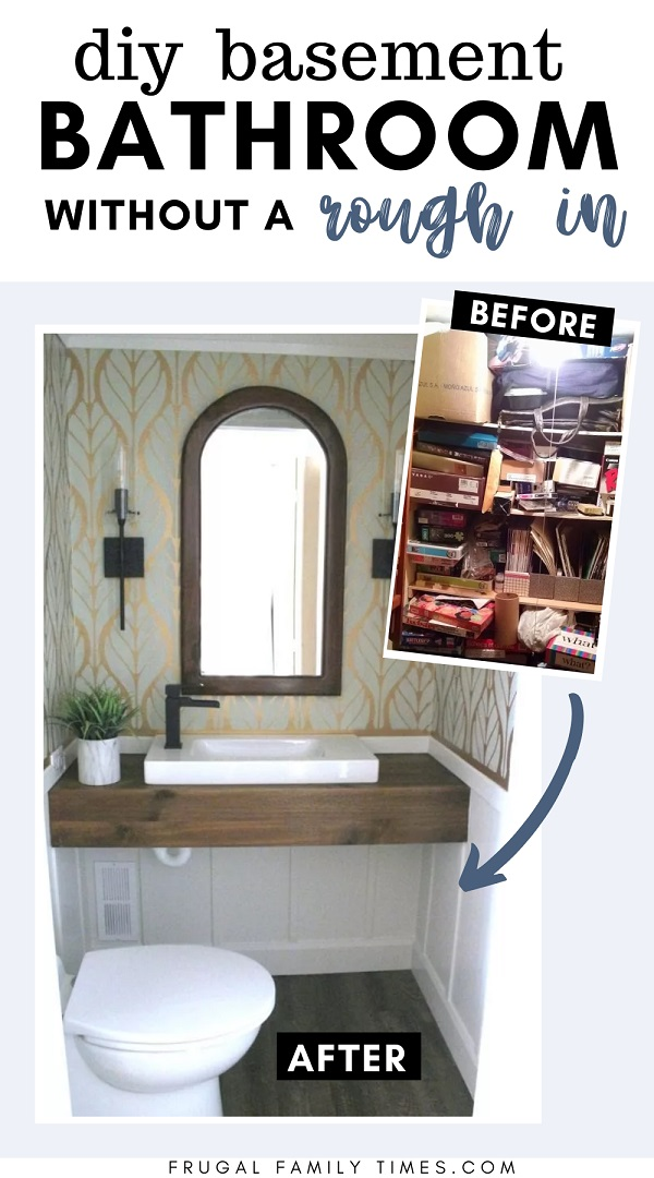 Diy Basement Bathroom, Cost For Bathroom In Basement
