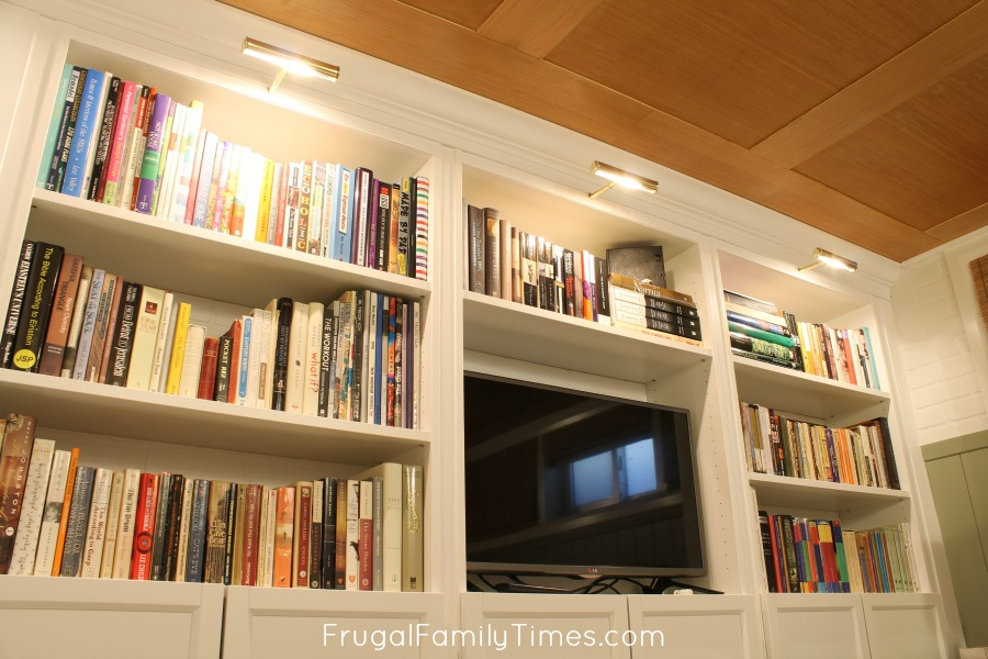 Bookcase Lighting To Any Bookshelf